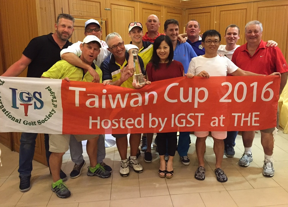 Oct 2016 Taiwan Cup Three Peat Winners